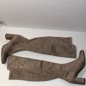 Liz Claiborne Over the Knee Boots Suede